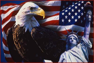 eagle-flag-and-statue
