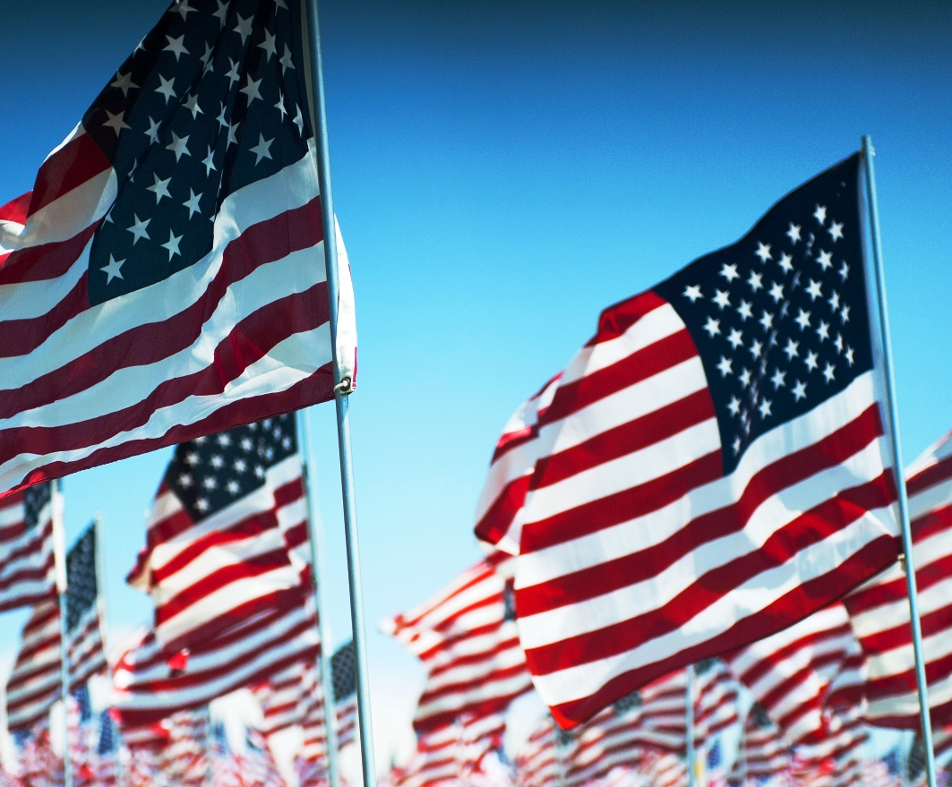 veterans-day-flags