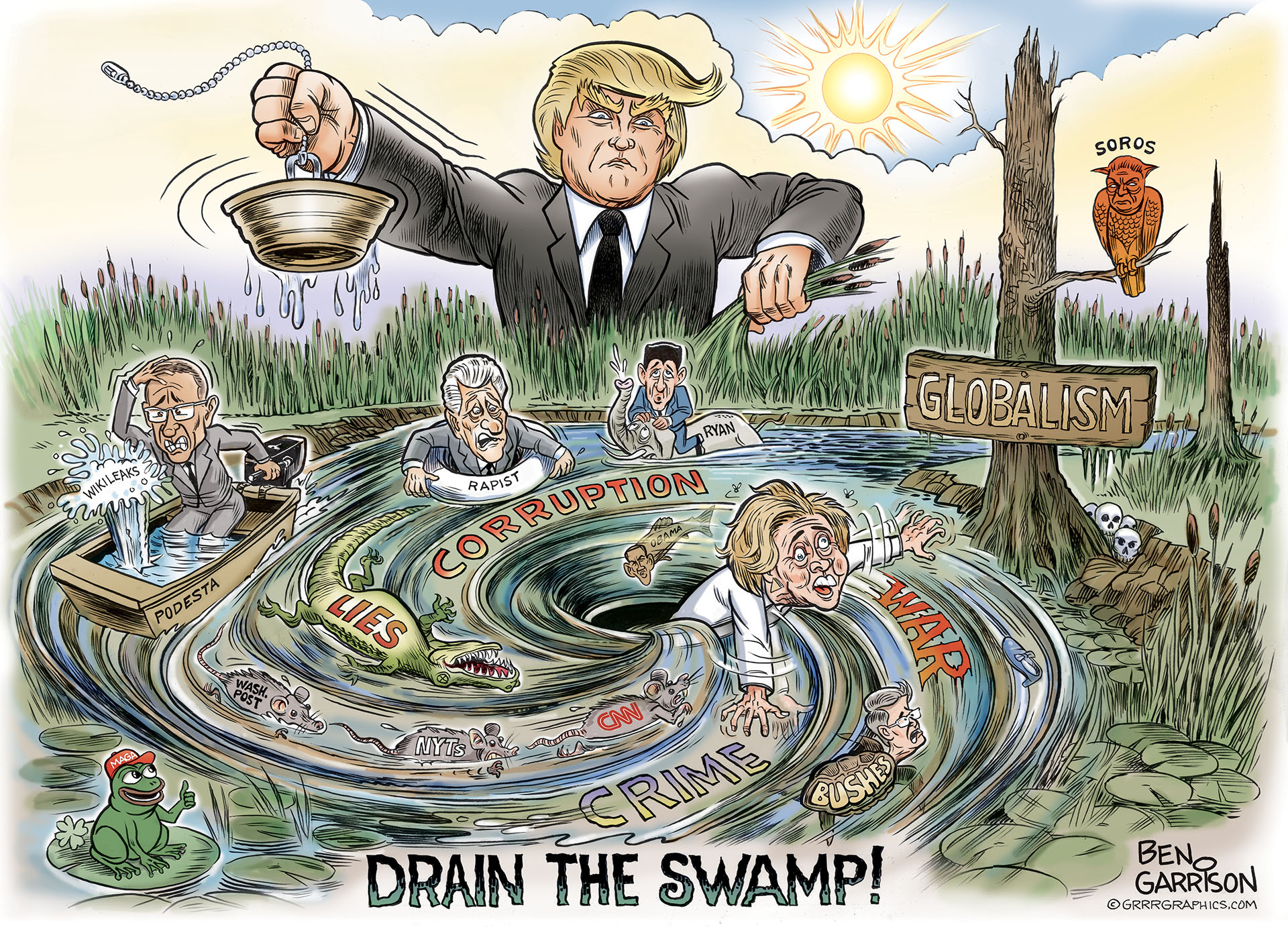 drain_the_swamp_ben_garrison
